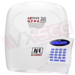 Central De Alarme Monitorada Active 20 Gprs Jfl